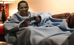 Obama Snuggie