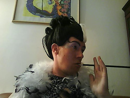 cruella deville makeup. Paul in Cruella DeVille