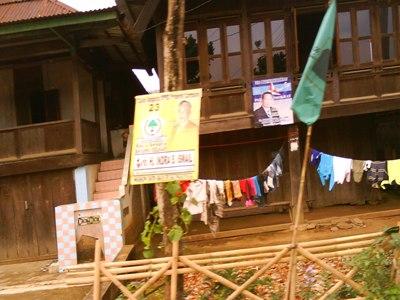 Kampanye Damai Pemilu Indonesia di Way Tenong