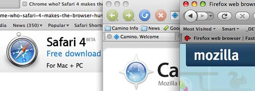 Safari 4 Camino Firefox