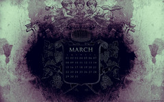 March 2009 Calendar (kriegs) Tags: desktop wallpaper abstract art march calendar widescreen digitalart cupid desktopwallpaper 1920x1200 iphonewallpaper