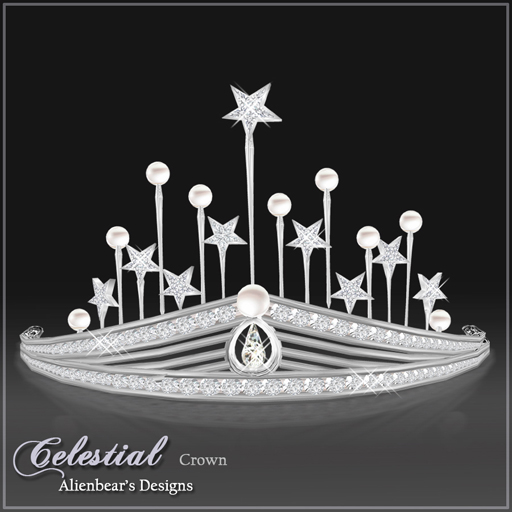 Celestial Pearl & Diamond crown