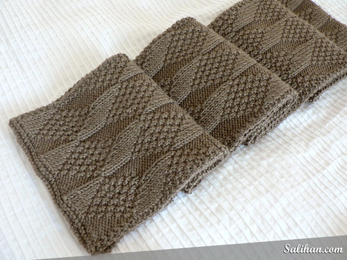 Knitting Patterns Reversible Scarves : Asherton Reversible Scarf Salihan Crafts Blog