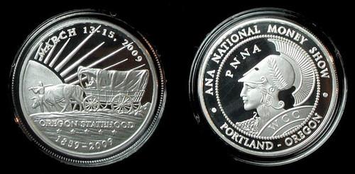 2009 Oregon ANA Silver Medal