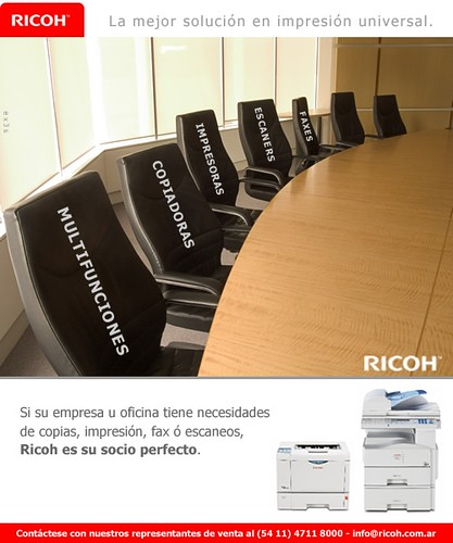 Ricoh marketing directo segmento