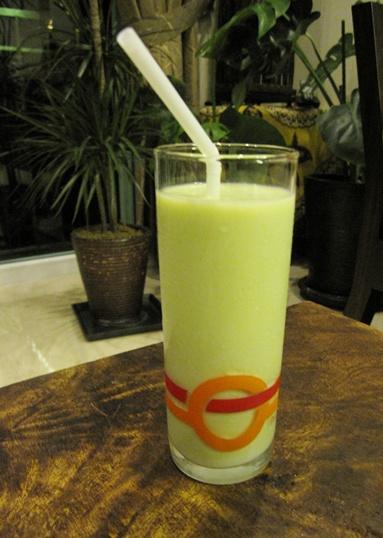 Avocado Milkshake Individual Glass