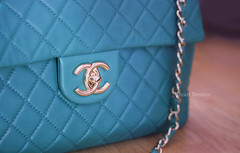 It's not just a bag (heartbreaker [London]) Tags: green love bag chanel jumbo stylish lightgold