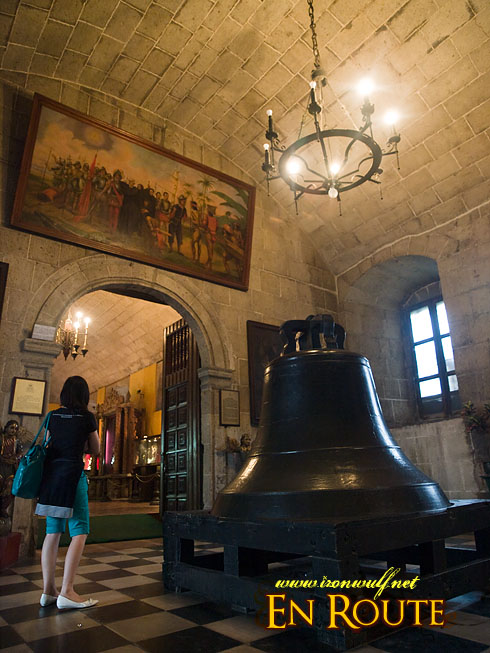 San Agustin Church Bell
