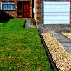 Ideology (M. G.. W...) Tags: cambridge house brick grass concrete nikon suburban suburbia gravel frontgarden d60 nikkor1855mmvr