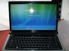Booting up Windows Vista