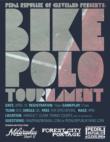 bike polo tournament cleveland