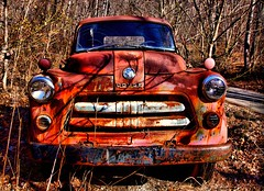 Dodge (Ken Yuel) Tags: virginia rust blueridgemountains rustyandcrusty dodgetrucks rusticrelics abigfave canon50d ultimateshot saintbridge abandonedvehicles digitalagent kenyuel