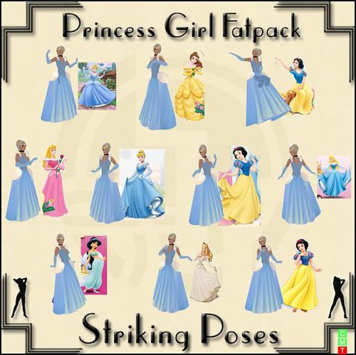 Princess Girl Fatpack