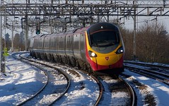 Pendolino Tilt One (Alastair Wood) Tags: virgintrains wolverton pendolino wcml class390 tiltingtrain
