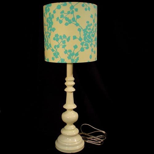 Yellow & Teal Lamp