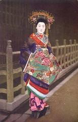 Tayuu - a Japanese courtesan (noel43) Tags: japan japanese district prostitute prostitution redlight pleasure meiji yoshiwara taisho oiran tayu tayuu kamuro