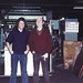 Roger Duffield and Barry Brown in the Machine Room in 1982