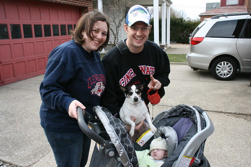 baby's first walk