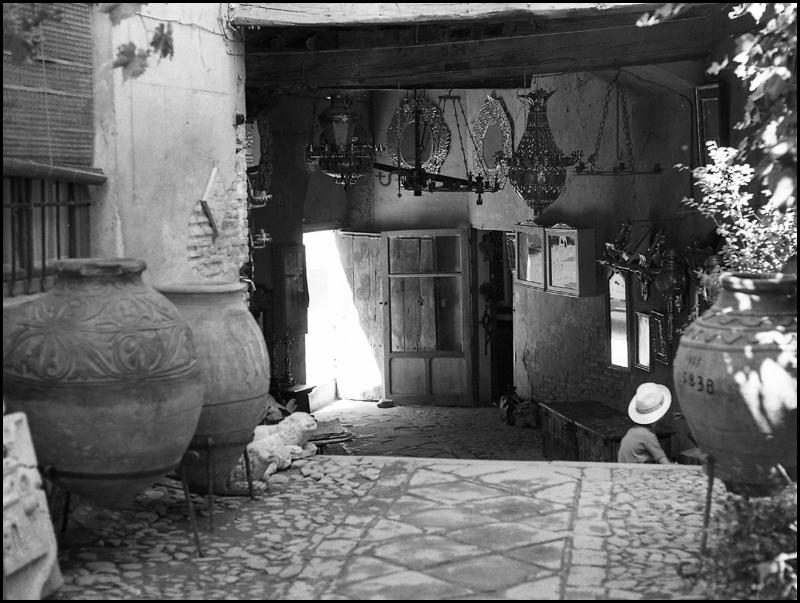 Pasadizo de Balaguer en 1967. Fotografía de John Fyfe