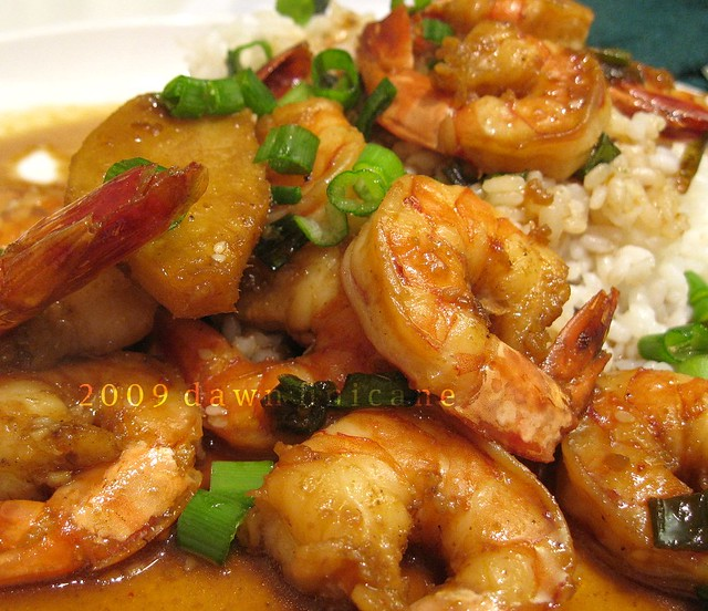 Spicy Sesame Shrimp