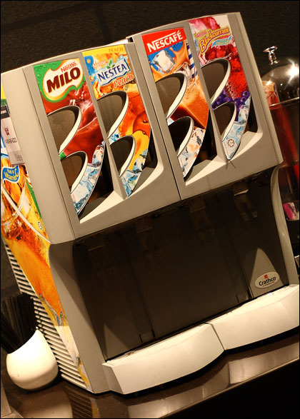 local-drinks-machine