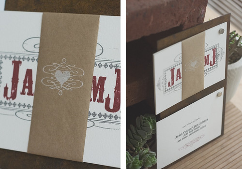 3398911373 8d66070c87 Jamie Bens Kraft Paper Desert Wedding Invitations