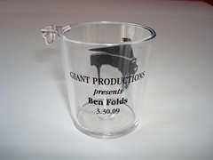 Ben Folds Shot Glass