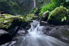Relax to the rhythmic (tropicaLiving - Jessy Eykendorp) Tags: river indonesia waterfall westjava bogor curugnangka efs1022mmf3545usm canoneos50d tropicaliving jessyce sonature