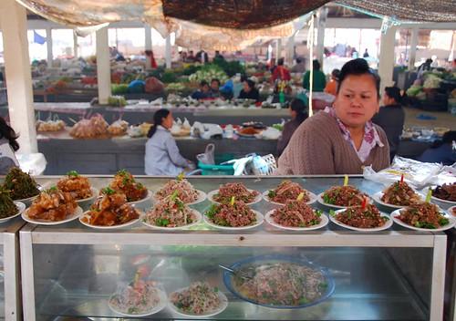 market, luang nam tha