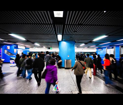 Rush Hour @ MTR