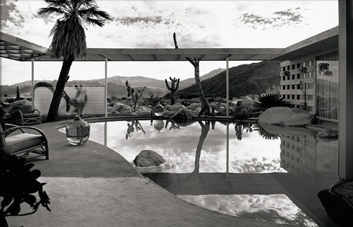 Albert Frey, Loewy House, Palm Springs, photographed by Julius Shulman