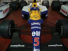"Nigel Mansell's ""Red Five"" 1991 Williams FW14 (zawtowers) Tags: barcelona red cars museum season williams head five patrick grand f1 racing legendary historic collection prix silverstone adrian motor 1991 wins formula1 mansell nigel senna riccardo battles donington newey ayrton nigelmansell redfive patrese fw14 illeone"