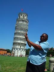 Hold it up (douglas.davis59) Tags: italy leaningtower piza
