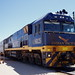 Indian Pacific Locomotive. Cook. SA