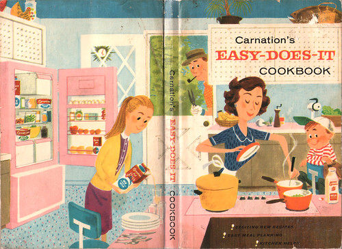 Carnation's Easy-Does-It Cookbook cover