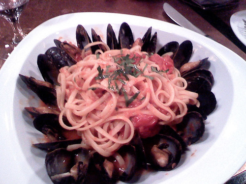 Setaro Linguine with Mussels