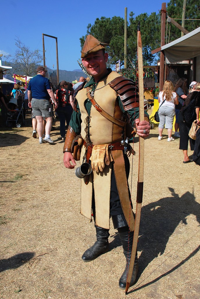 Robin Hood (Cheryl R. Swain) Tags california costumes leather pirates fair socal & The Worldu0027s Best Photos of archer and costumes - Flickr Hive Mind