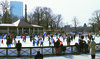 Skating on Frog Pond in Boston Common