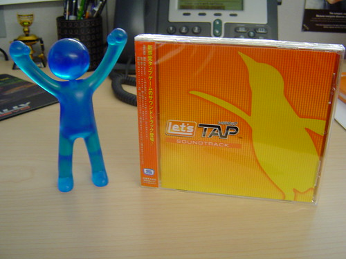 Let's Tap figurine and soundtrack