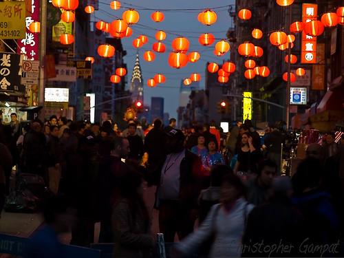 Chinatown Red Lights