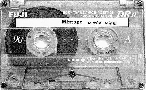 Mixtape - a mini zine