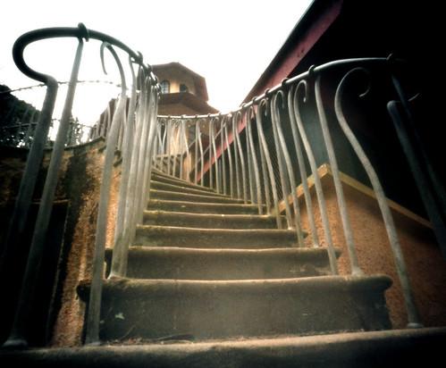 Monkey house Culzean pinhole image