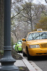 Yellow cab, green cab