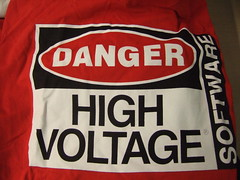 The Conduit - High Voltage Software Tshirt- 4/22/09