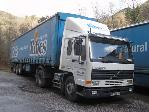 Volvo a Ribes de Freser (Girona)