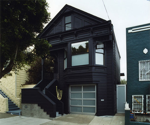 Clipper Street Residence envelopeA+D (see more at the NY Times) & Black houses. | Door Sixteen