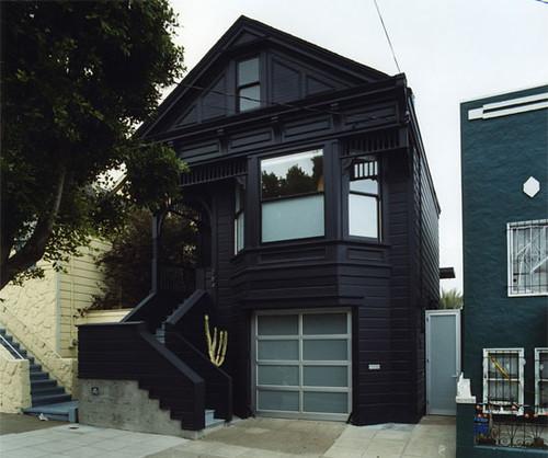 Black Houses Door Sixteen