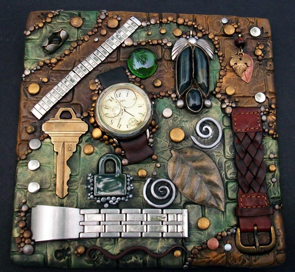 Watchband mosaic tile
