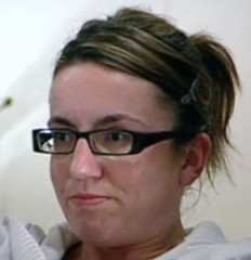 Lorraine from BBC's The Apprentice 2009 (GwG Fan) Tags: glasses kate bbc screencap lorraine theapprentice tvcap gucciglasses