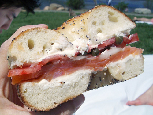 belly lox from russ & daughters